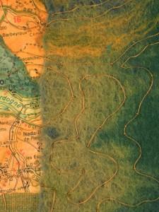 Landmarks in Dordogne (detail)