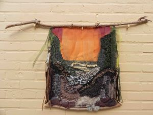outdoor textile art