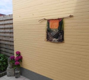 outdoor textile art (in situ)
